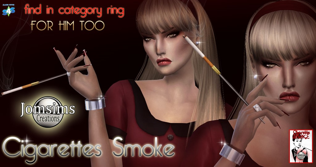 Accessory Cigarette by JomSims