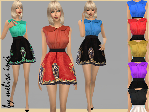 Skater Dress by melisa inci