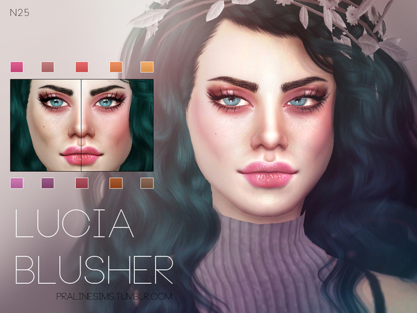 Lucia Blusher N25 by Pralinesims