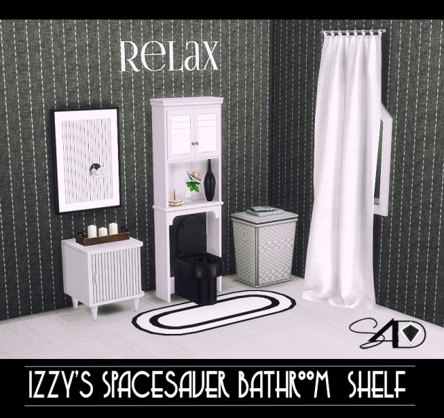TS2 Space Saver Bathroom Shelf by Daer0n