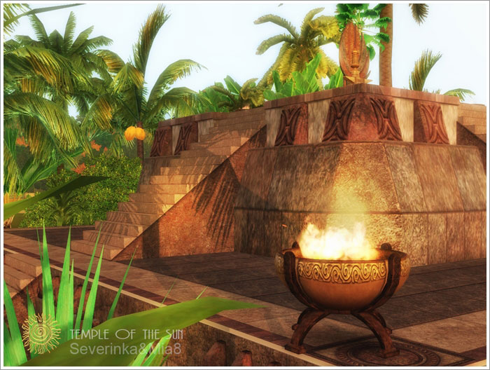 Temple of the Sun (objects) by Severinka & Mia8