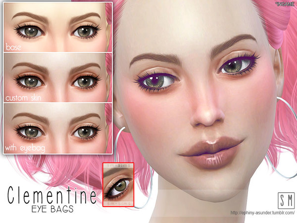 [ Clementine ] - Eye Bag by Screaming Mustard