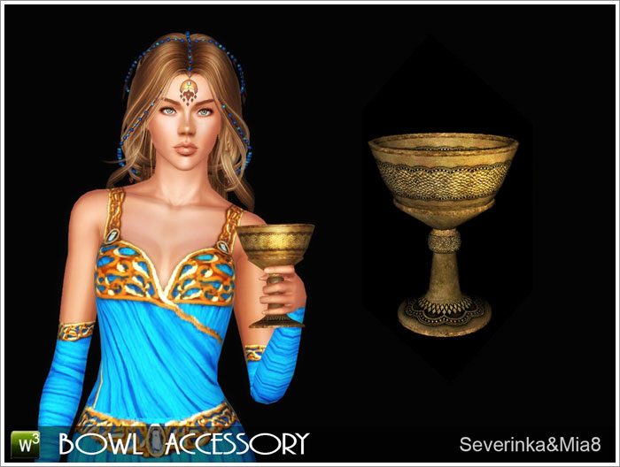 Temple of the Sun (accessories) by Severinka & Mia8