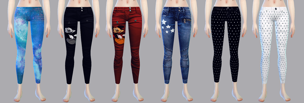 PIPI PANTS AM&AF SET1 by PIPITS4