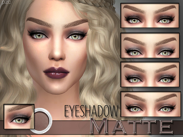 PZC_Matte Mineral Eyeshadow by Pinkzombiecupcakes