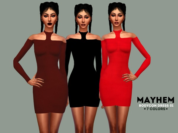 Mayhem Bodycon dress 01 by NataliMayhem