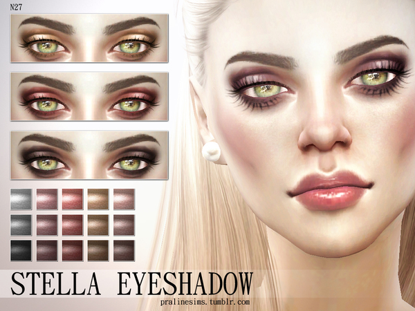 Stella Eyeshadow N27 by Pralinesims