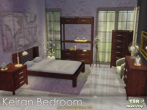 Keiran Bedroom by sim_man123