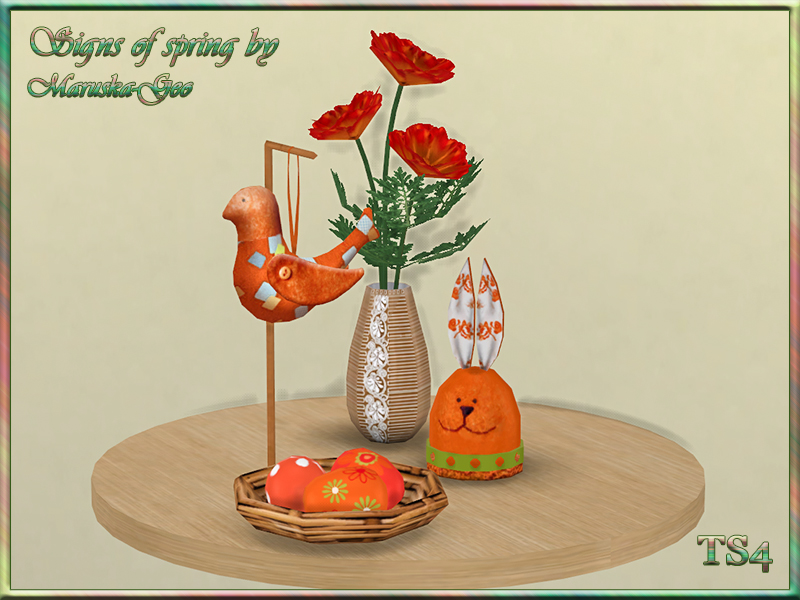 Easter Decor Set by MaruskaGeo