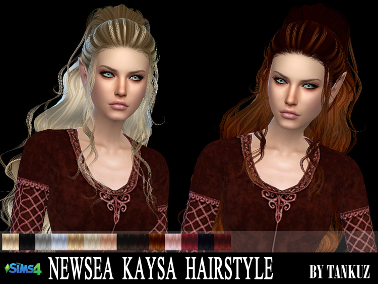Newsea Kaysa Hairstyle by Tankuz