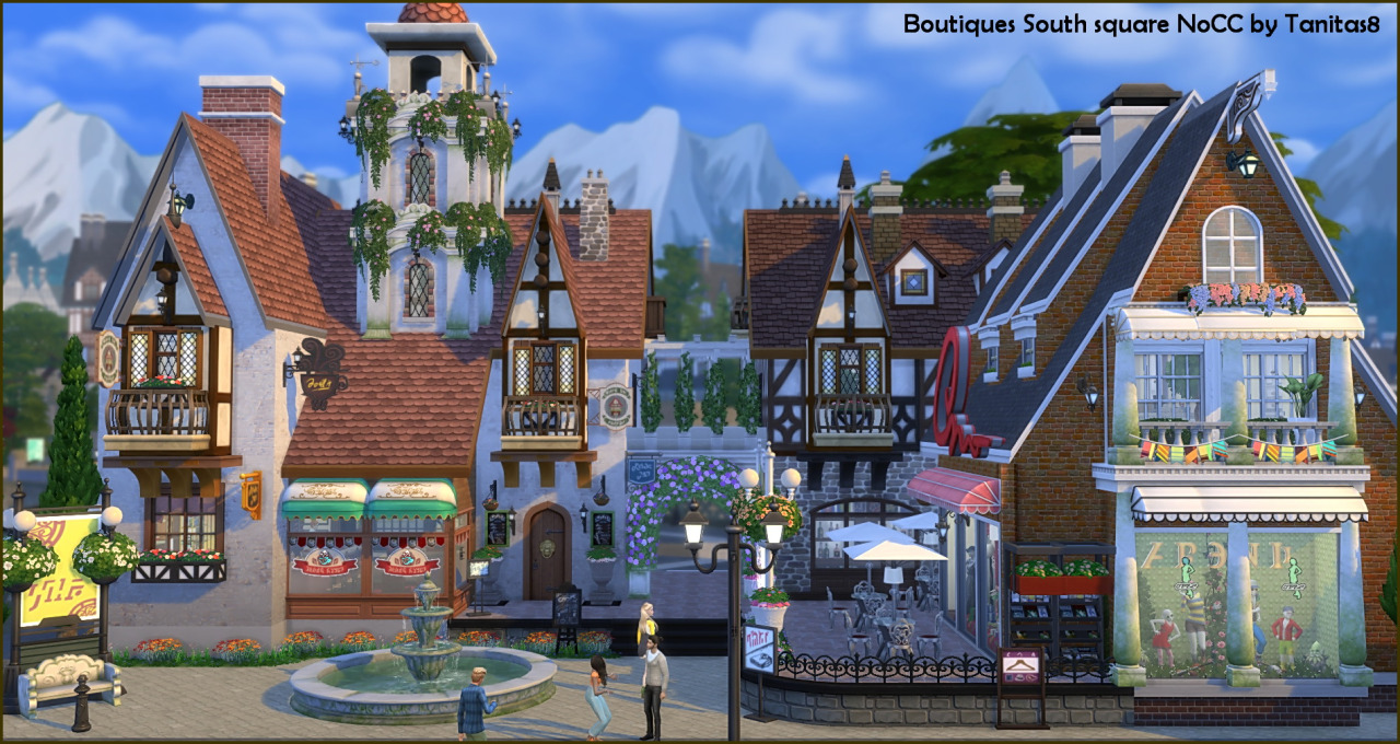 Boutiques on South Square - NoCC by Tanitas8