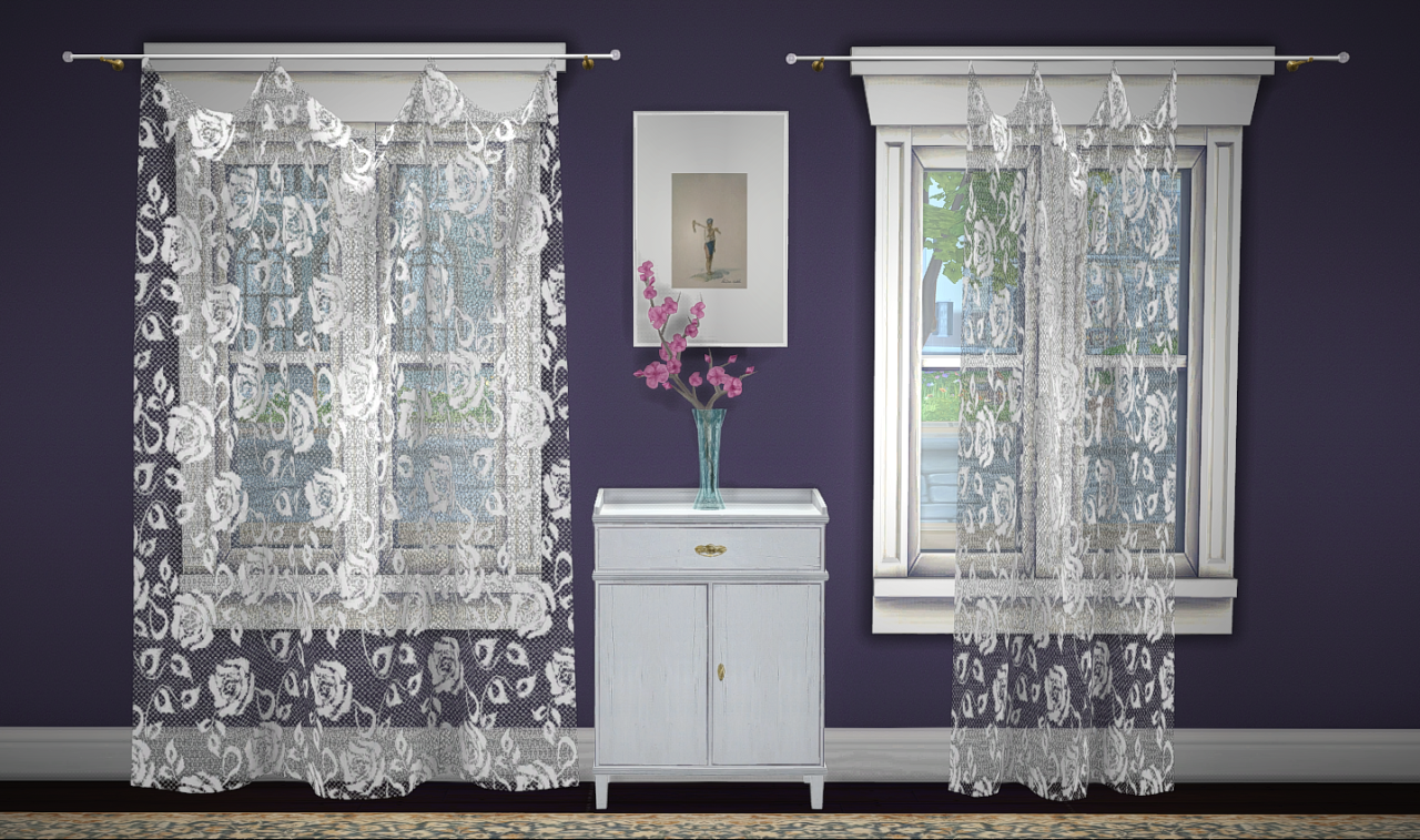 Build A Curtain Lace & Sheer by GreenGirl100