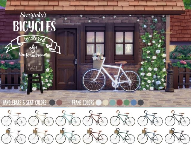 Severinkas bicycles recolored by SimForADream