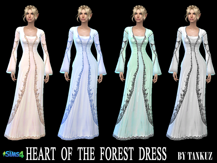 Heart of the Forest Dress by Tankuz