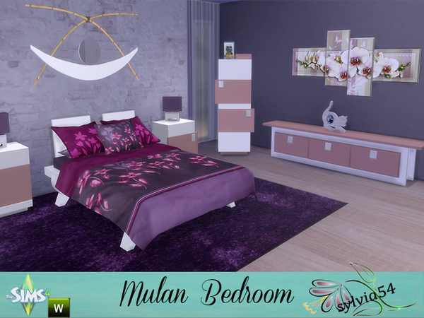 Mulan Bedroom by sylvia54