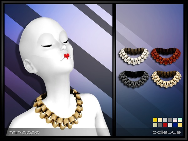 Coilette Necklace by Mr.Dapo