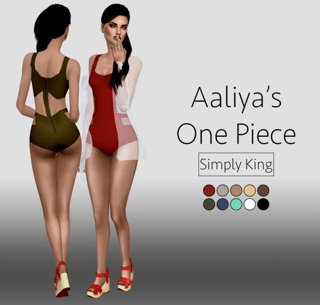 Aaliyahs One Piece by Simply King