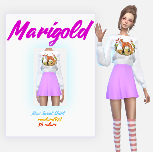 Manzanas_New Sweat Shirt recolors(2) by sens-felipa