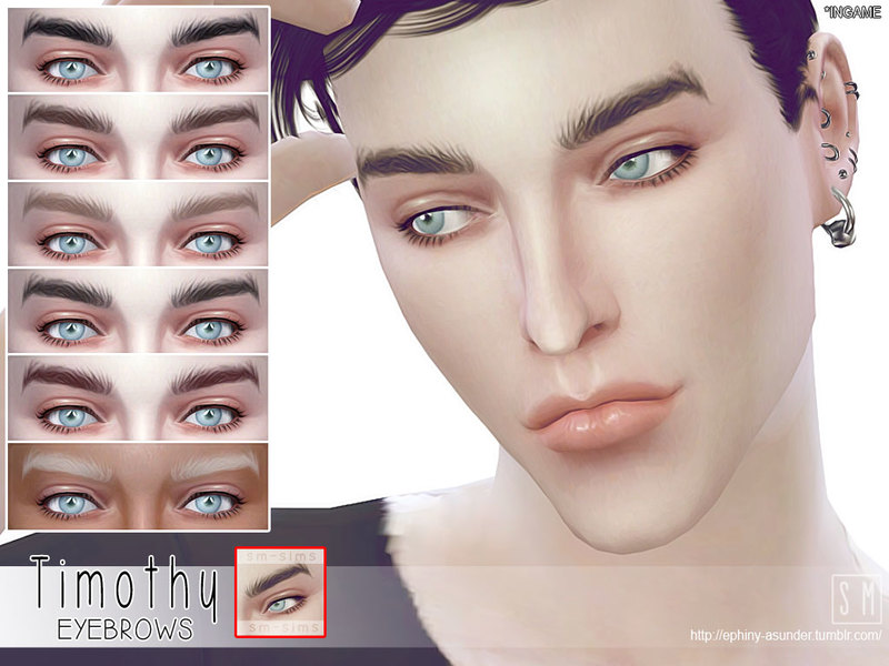 Timothy - Male Brows by Screaming Mustard