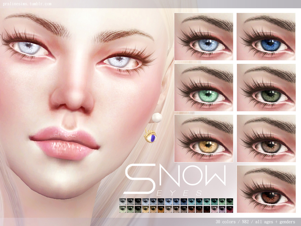 Snow Eyes N82 by Pralinesims