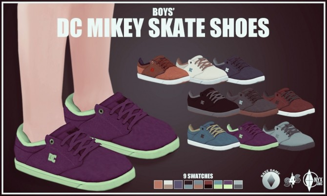 BOYS MIKEY SKATE SHOES AT ONYX SIMS