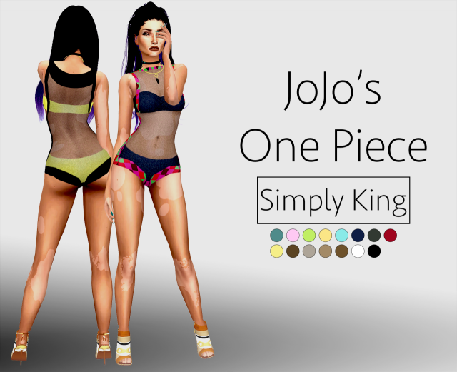 JoJos One Piece by Simply King