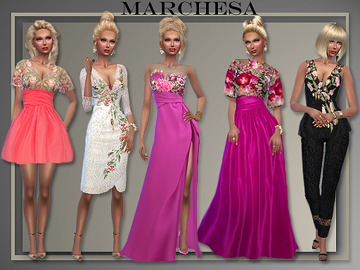 Eveningwear By Marchesa Spring/ Summer 2016 by All About Style