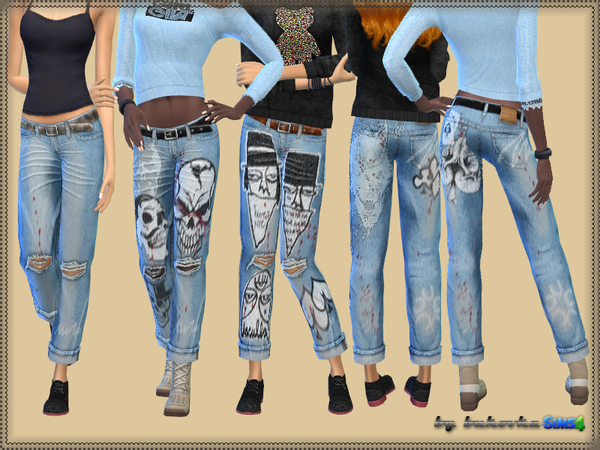 Jeans Spades by bukovka