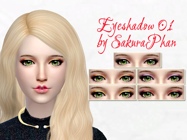 Eyeshadow 01 by SakuraPhan