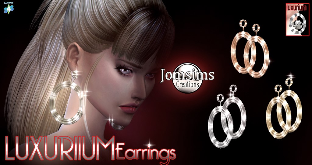Luxurium-earrings by JomSims