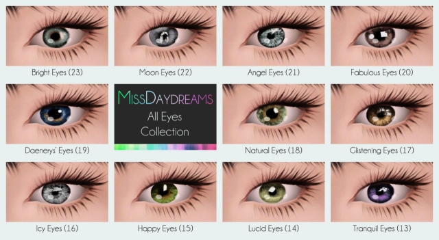 All Eyes Collection by MissDaydreams
