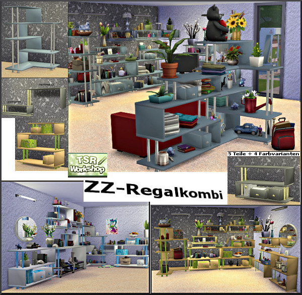 Regalsystem ZZ by Christine1000