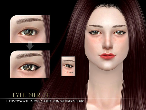 S-Club WM ts4 eyeliner 11