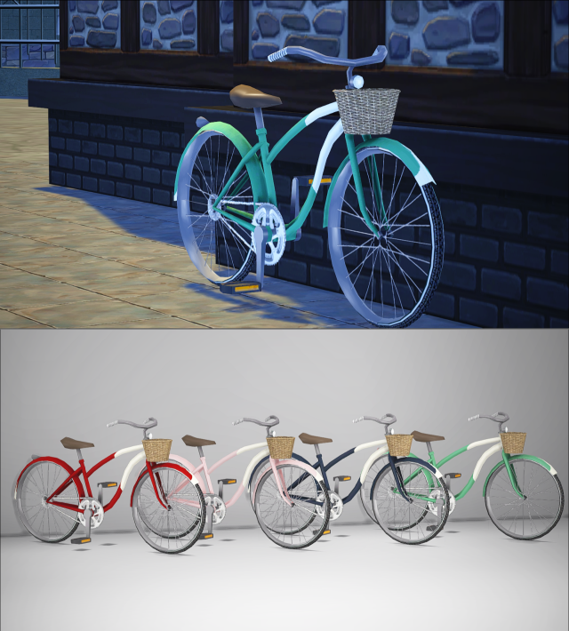 TS3-TS4 Smooth Cruise Bicycle (deco only) by GreenGirl100