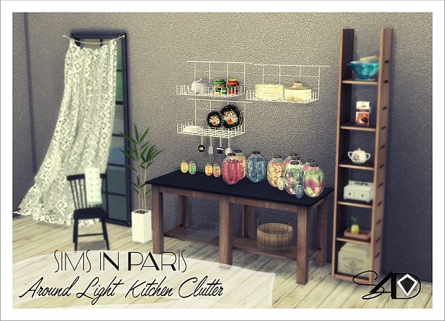 "2t4 SIP ""Around Light Kitchen"" Clutter by Daer0n"