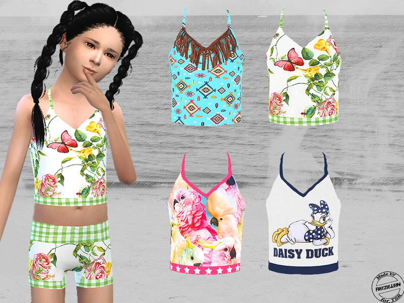 Cute Bikini Set   BY Fritzie.Lein