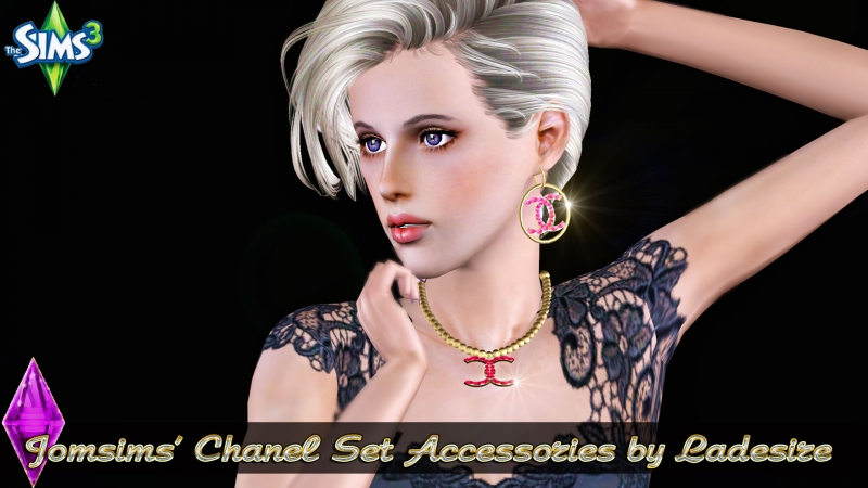 Jomsims' Chanel Accessories Set by Ladesire