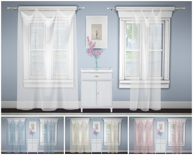 Build A Curtain Sheer by GreenGirl100