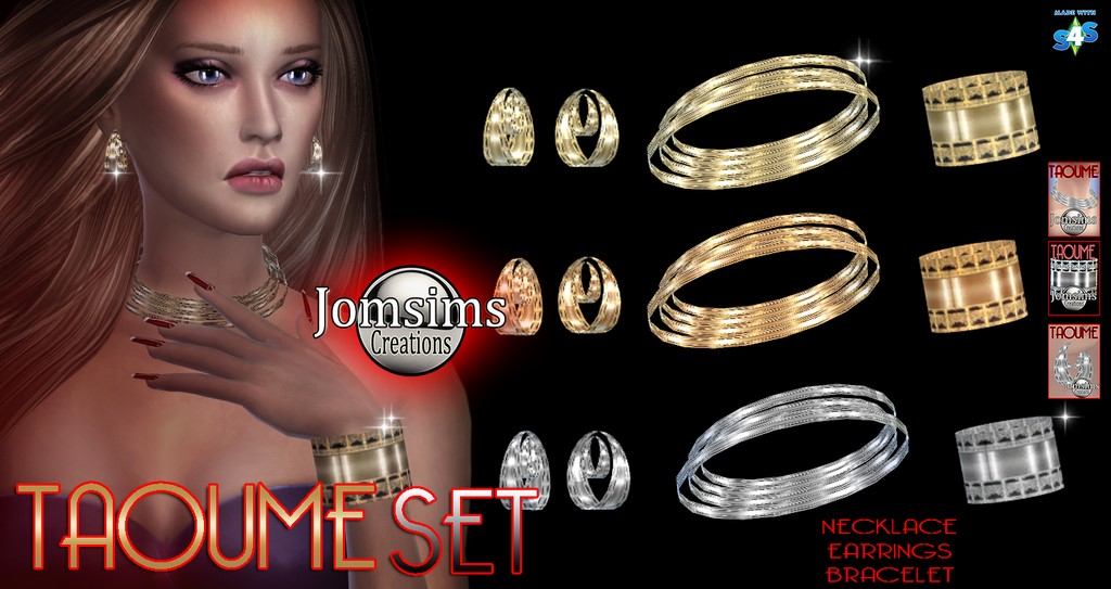 Taoume Accessories Set by JomSims