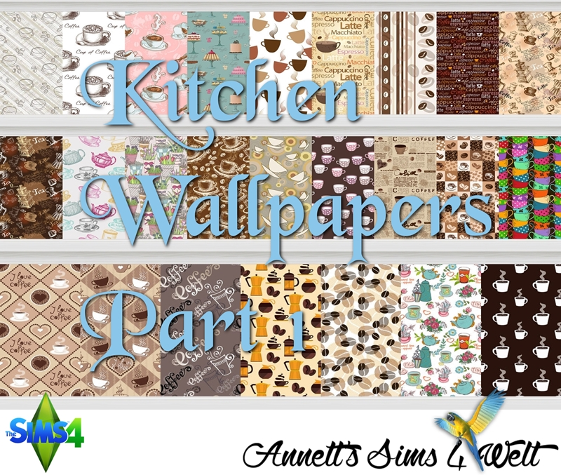 Kitchen Wallpaper by Annett85