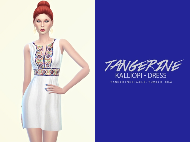 Kalliopi dress by tangerine