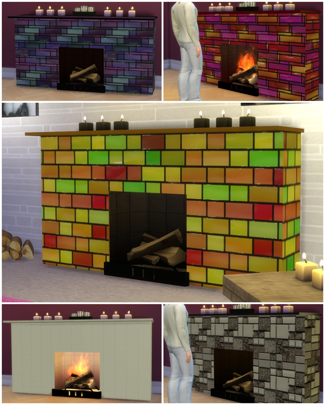 Funky Fireplace by Freeasabird