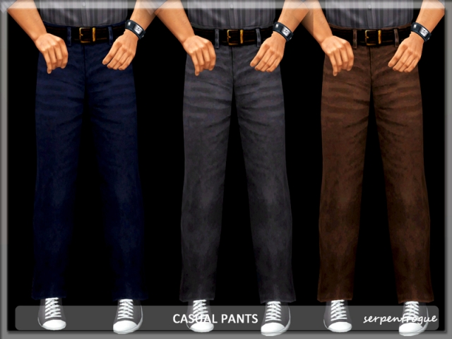 Casual Pants by Serpentrogue