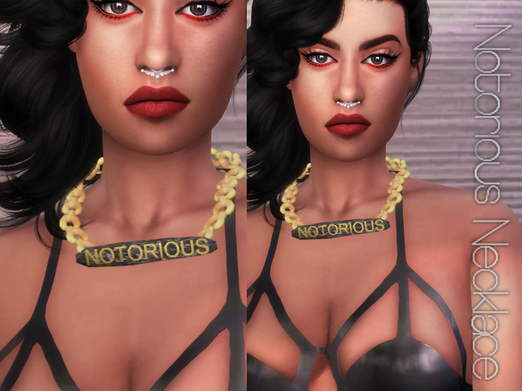 Notorious Necklace by WhiteCrow