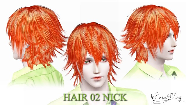 HAIR 02 NICK by VivianDang