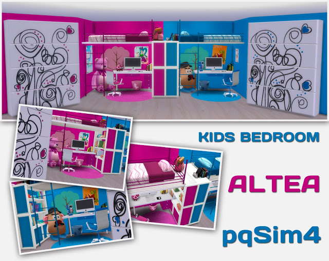 ALTEA KIDS BEDROOM BY MARY JIMNEZ AT PQSIMS4