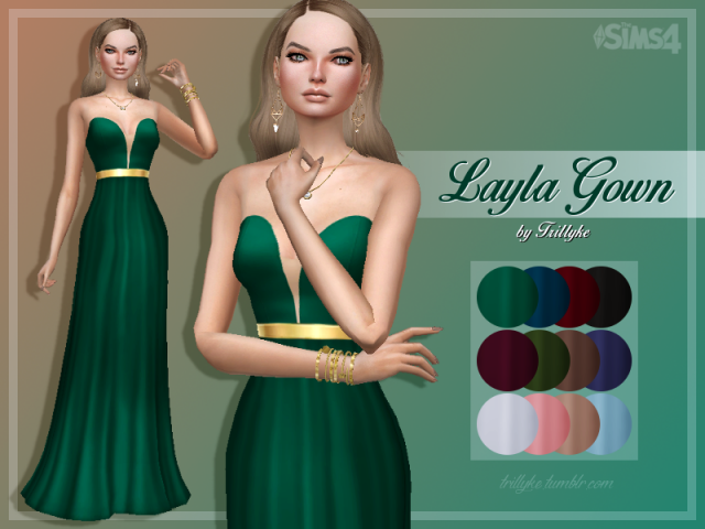 Layla Gown by Trillyke