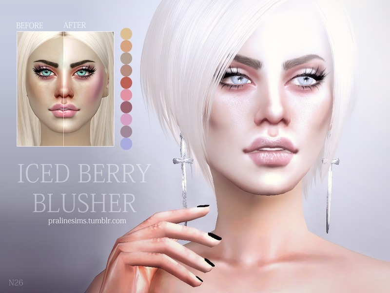 Iced Berry Blusher N26 by Pralinesims