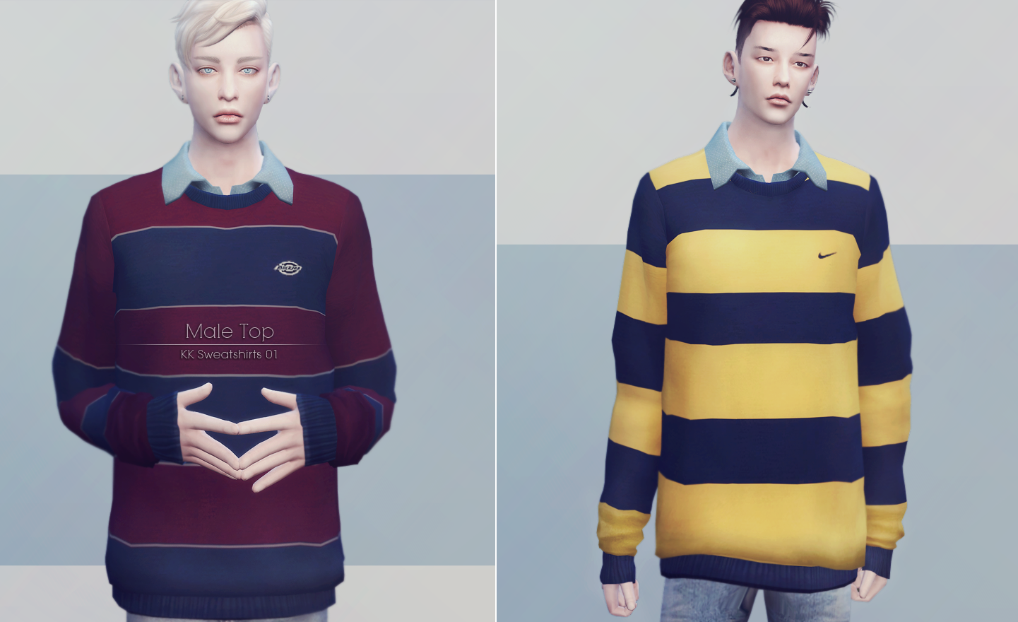 Sweatshirts for Males by Ooobsooo