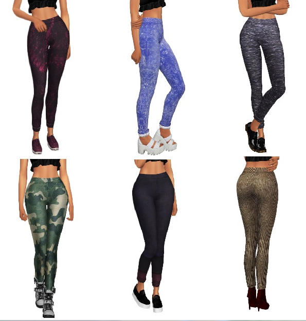 Nyloa - Cuffed Leggings Retexture by Kenzar